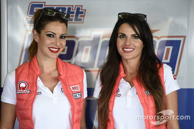 Hermosas chicas de Pramac Racing