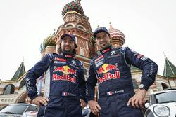 #104 Peugeot: Сириль Депре, Давид Кастера