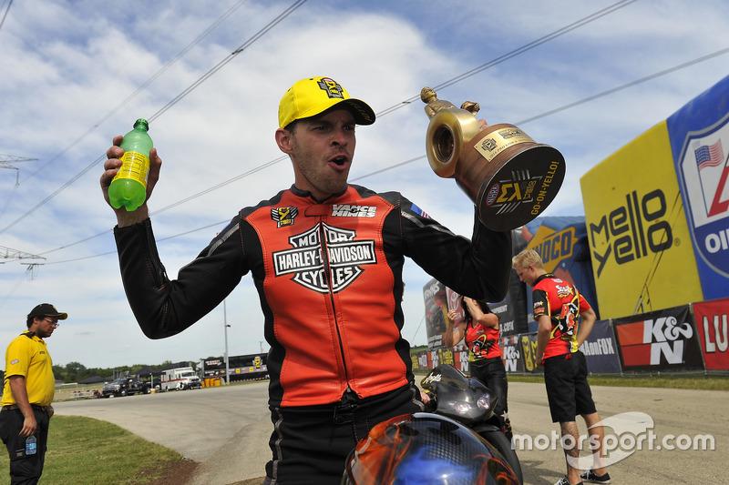 Sieger Pro-Stock-Bike: Andrew Hines