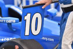 La monoposto di Tony Kanaan, Chip Ganassi Racing Chevrolet