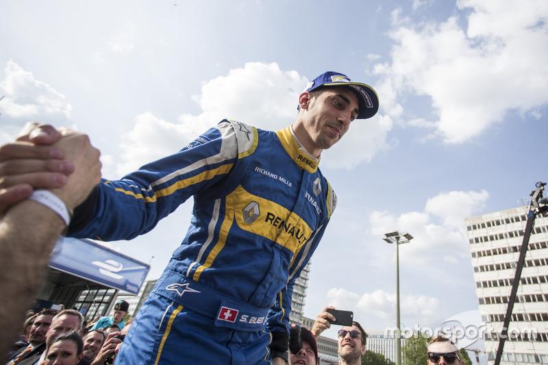 Победитель гонки - Себастьен Буэми, Renault e.Dams