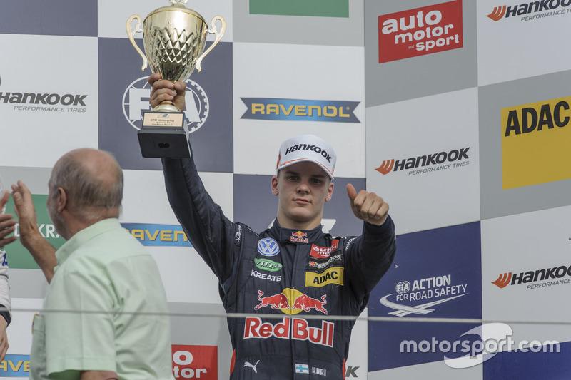 Podium: 3. Niko Kari Motopark, Dallara F312 - Volkswagen