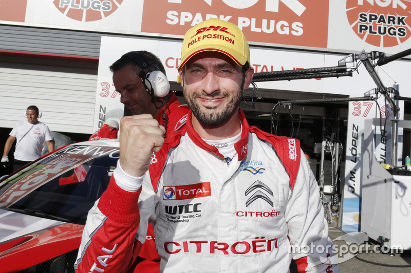 Pole: José María López, Citroën World Touring Car Team, Citroën C-Elysée WTCC