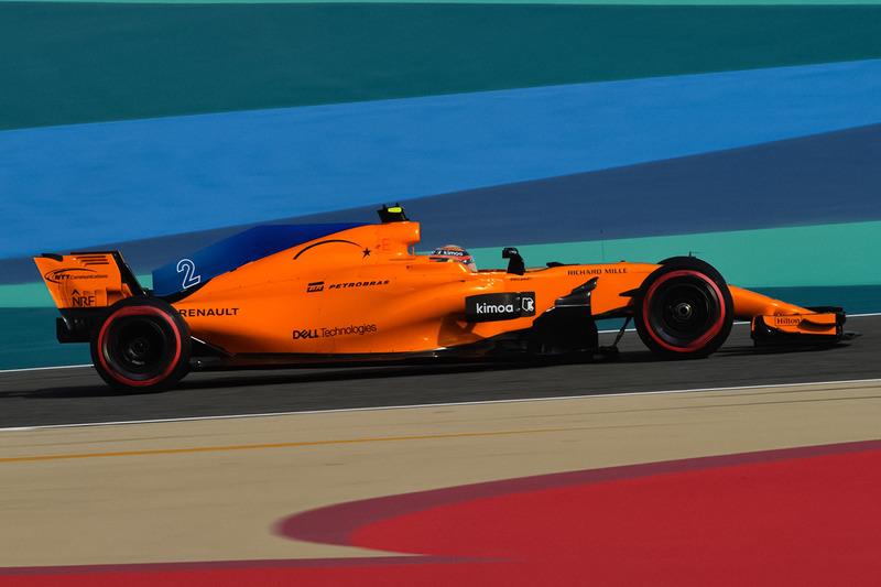 De McLaren MCL33 zonder halo