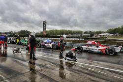 Rote Flagge: Marco Andretti, Herta - Andretti Autosport Honda