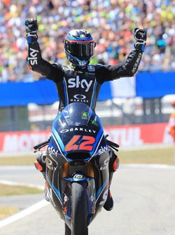 Il vincitore della gara Francesco Bagnaia, Sky Racing Team VR46