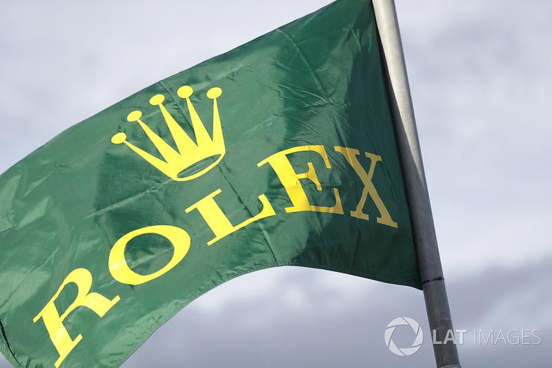 Rolex flag