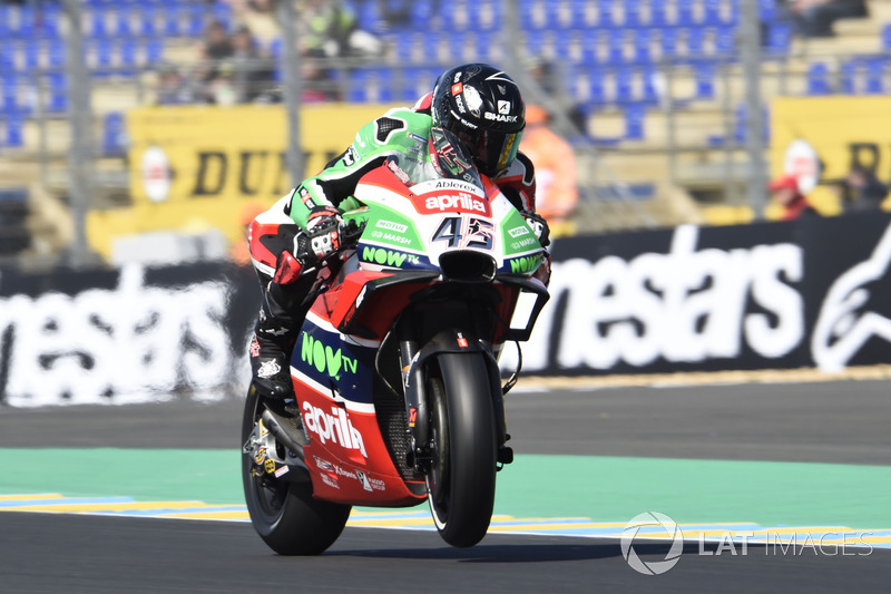 22. Scott Redding, Aprilia Racing Team Gresini