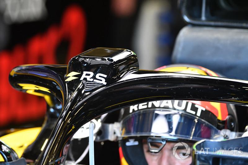 Halo de la Carlos Sainz Jr., Renault Sport F1 Team R.S. 18