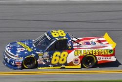 Clay Greenfield, Clay Greenfield, AMVETS Please Stand Motorsports Chevrolet Silverado