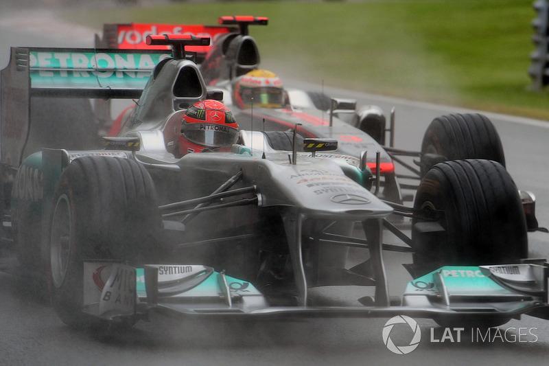 Michael Schumacher acabaría el mundial 8º, con 76 puntos
