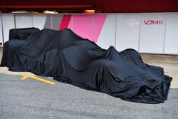 The new Sahara Force India VJM11 under covers