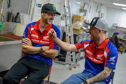 Ian Hutchinson und Lee Johnston, Honda Racing