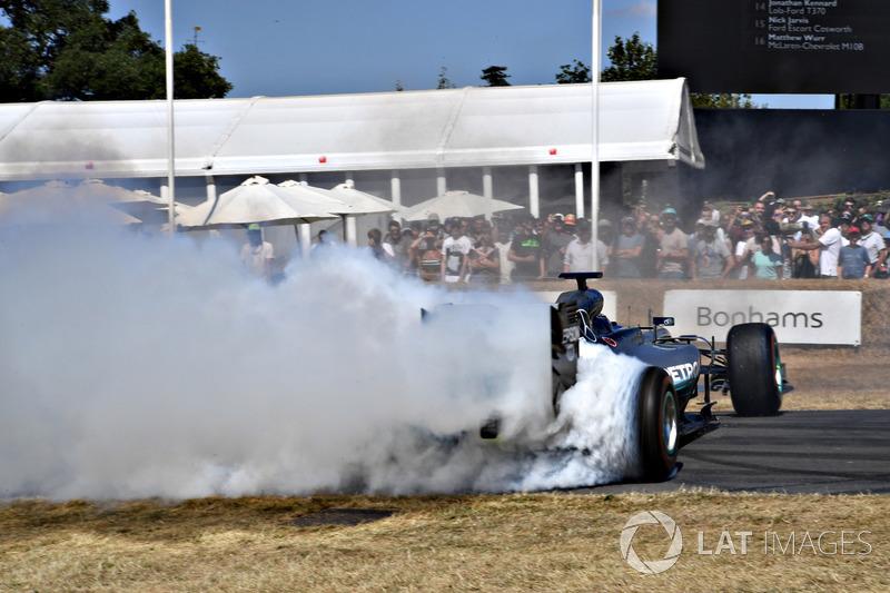 Valterri Bottas Mercedes Benz F1 W07