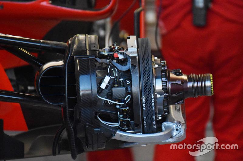 Ferrari SF71H ön fren detay
