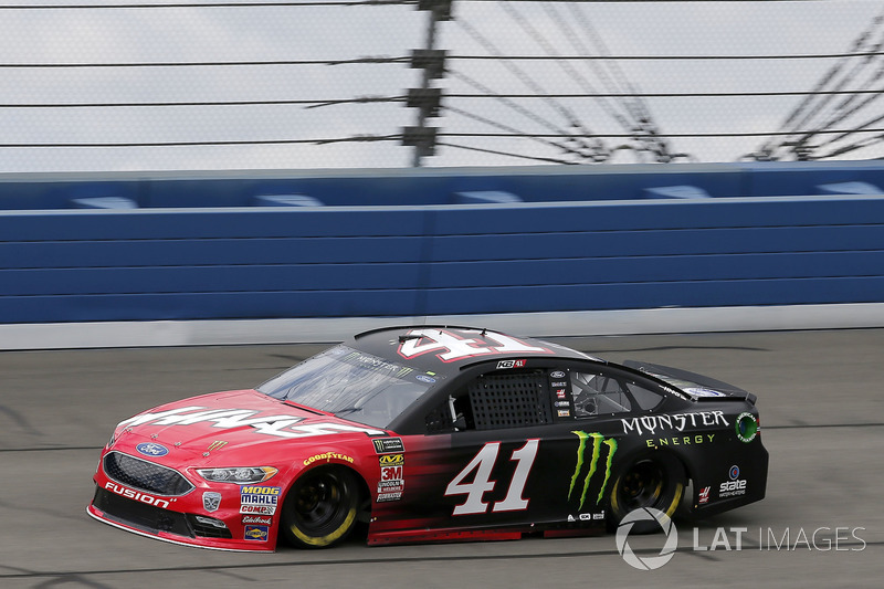 7. Kurt Busch, No. 41 Stewart-Haas Racing Ford Fusion