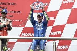 Troisième place pour Alex Rins, Team Suzuki MotoGP