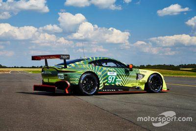 Aston Martin livery onthulling