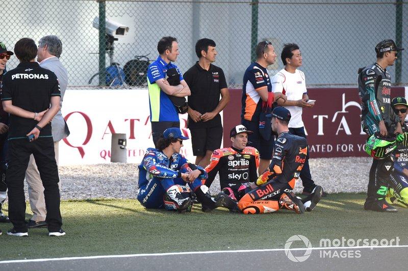 Alex Rins, Team Suzuki MotoGP, Aleix Espargaro, Aprilia Racing Team Gresini, Pol Espargaro, Red Bull KTM Factory Racing