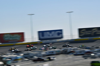 Daniel Hemric, Richard Childress Racing, Chevrolet Camaro South Point Hotel & Casino and Ross Chastain, Chip Ganassi Racing, Chevrolet Camaro DC Solar