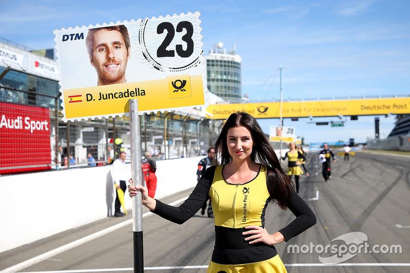 Chica de la parrilla de Daniel Juncadella, Mercedes-AMG Team HWA