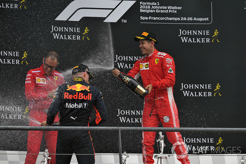 Sebastian Vettel győzelme a Belga Nagydíjon - F1 2018