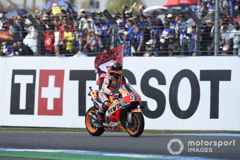 #15 GP de Thaïlande - Victoire : Marc Márquez