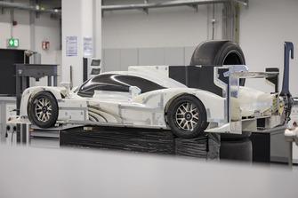 Modelo a escala del Porsche 919 Hybrid Evo
