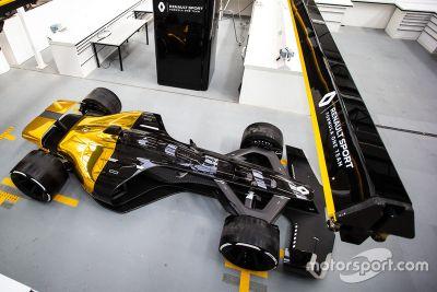Visite du quartier général de Renault à Enstone