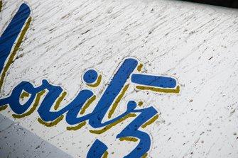 Detail on the rear of Edoardo Mortara's, Venturi Formula E, Venturi VFE05