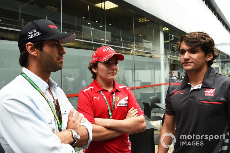 Felipe Nasr, Enzo Fittipaldi et Pietro Fittipaldi