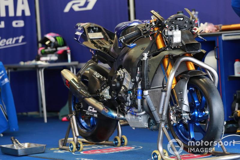 Bike of Alex Lowes, Pata Yamaha