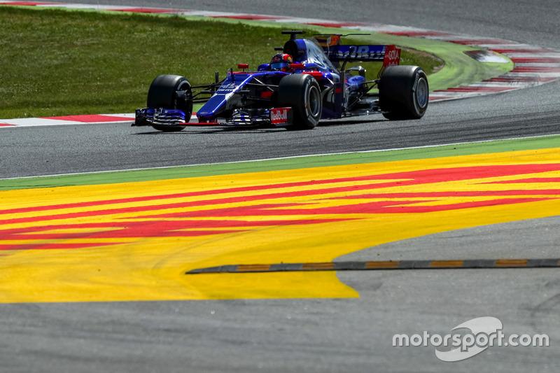 15 місце — Данііл Квят, Toro Rosso. Умовний бал — 8,380