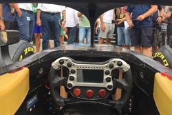 FIA Formula 2 2018, visuale dall'abitacolo