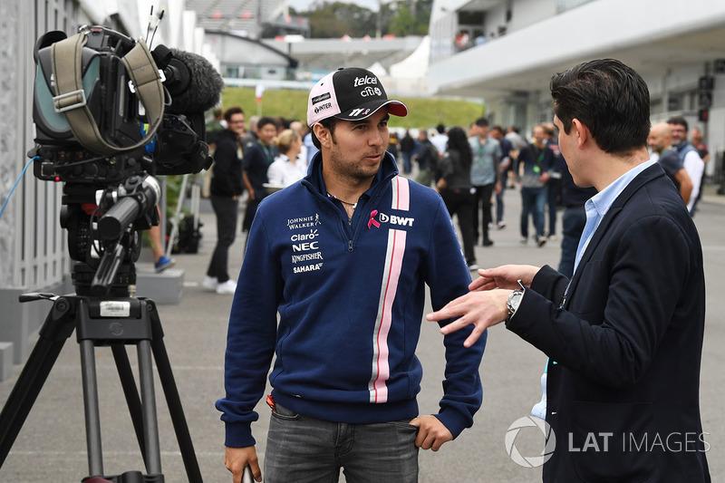 Серхіо Перес, Sahara Force India, маркетолог Гран Прі Мексики Родріго Санчес