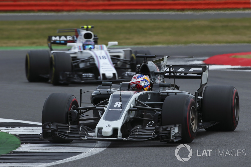 Ромен Грожан, Haas F1 Team VF-17, Ленс Стролл, Williams FW40