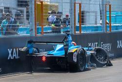 Авария: Пьер Гасли, Renault e.Dams