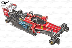 Ferrari F138 exploded view