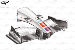 Honda RA107 2007 front wing and nose