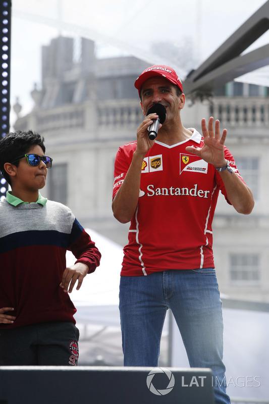 Marc Gene, Ferrari-Testfahrer