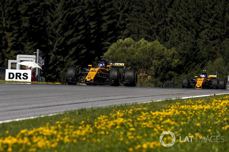 Сергей Сироткин и Джолион Палмер, Renault Sport F1 RS17