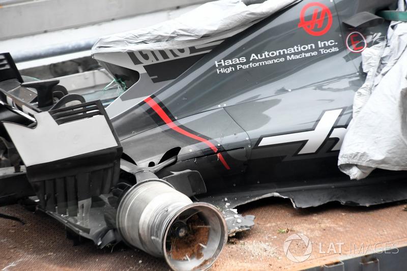 O treino foi marcado pelo acidente de Romain Grosjean, que foi parar na barreira de pneus, após passar por uma tampa de bueiro solta.