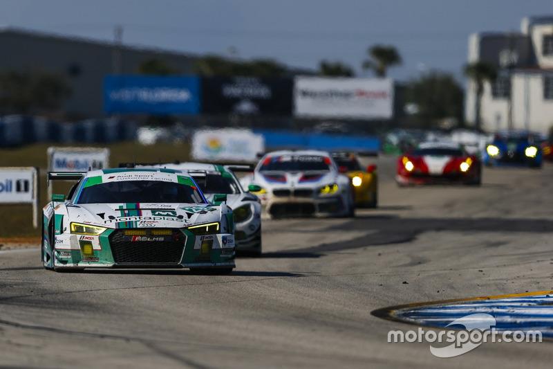 #29 Montaplast by Land-Motorsport, Audi R8 LMS GT3: Connor de Phillippi, Christopher Mies, Jules Gou