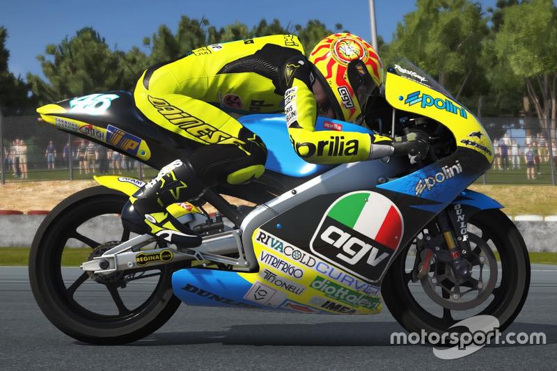 Valentino Rossi, Aprilia RS125R 1996