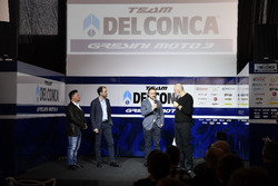 Fausto Gresini, Team Manager Gresini Racing Team with guests