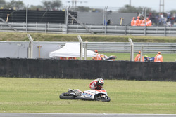 Jorge Lorenzo, Ducati Team, crash