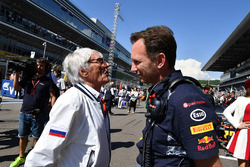 Bernie Ecclestone, Christian Horner, Red Bull Racing Team