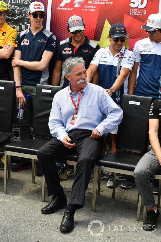 Chase Carey, Formel-1-Chef