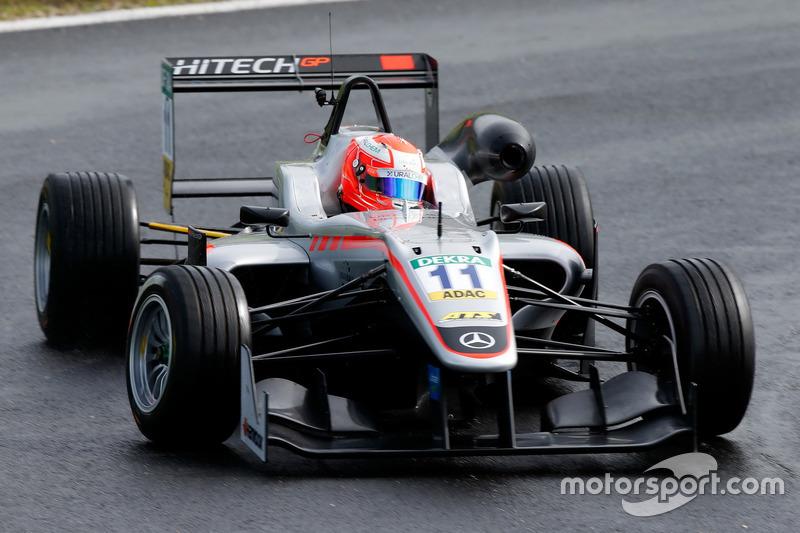 Nikita Mazepin, HitechGP, Dallara F312 - Mercedes-Benz