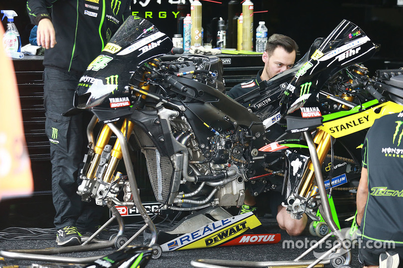 Bike of Pol Espargaro, Tech 3 Yamaha